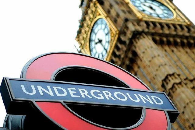 London: Entdecker streifen durch die Höhlen der U-Bahn