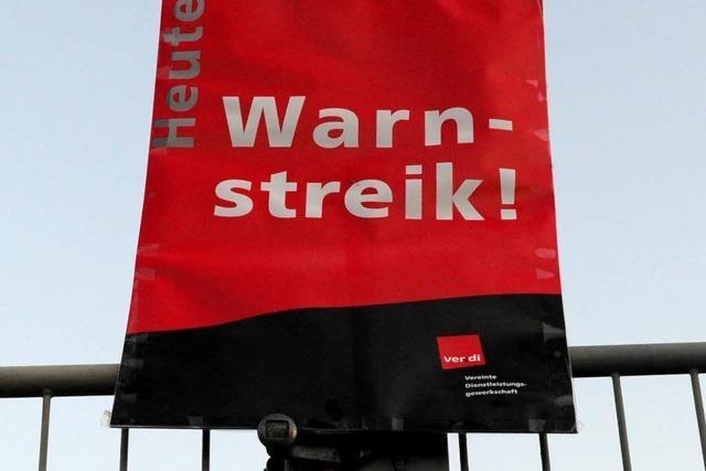 Erste Warnstreiks in Bad Säckingen und Waldshut