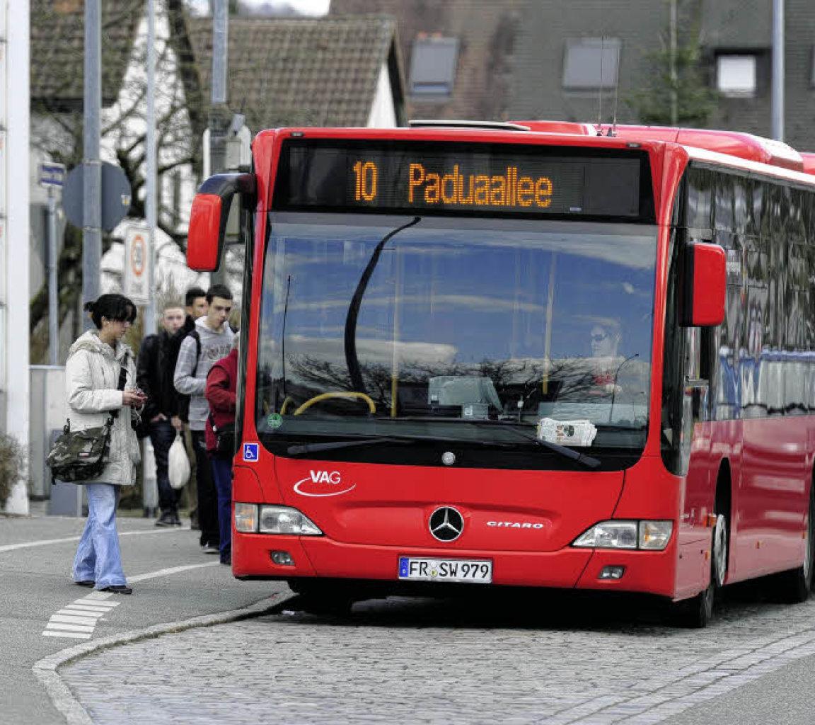 der zehner bus soll durchfahren freiburg west badische zeitung. Black Bedroom Furniture Sets. Home Design Ideas
