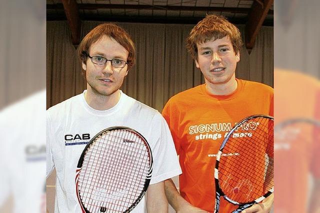 Stabbauer, Strittmatter und Jank verteidigen Tennis-Titel