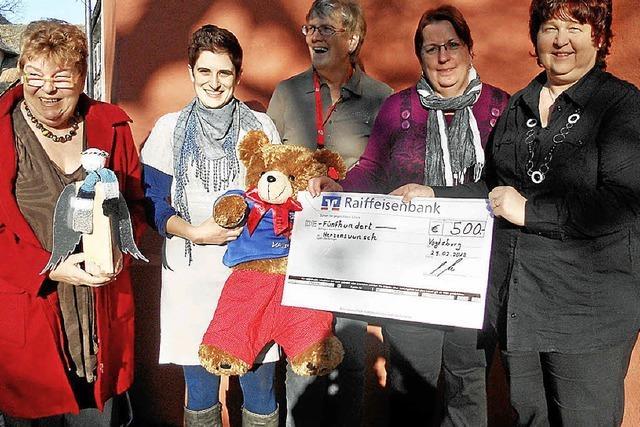 Landfrauen helfen Kindern