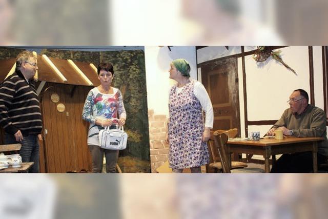 Ein schlitzohriger Opa hält seine Familie auf Trab