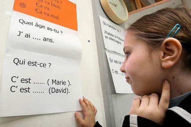 Was leistet Französisch an einer Müllheimer Grundschule?