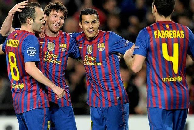 Messi-Show: Barcelona demontiert Leverkusen mit 7:1
