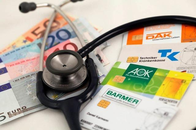 Rekordreserven für Krankenkassen