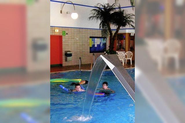 Entspannen auch unter Wasser