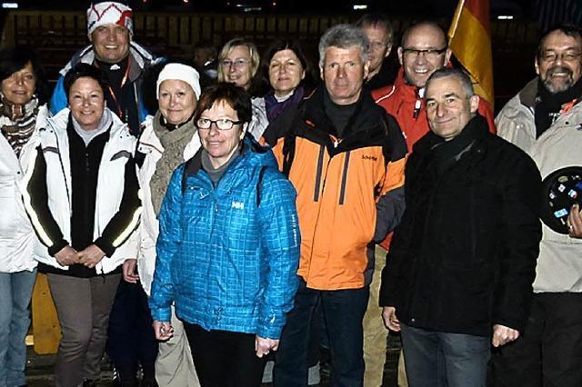 Zu Gast bei der Biathlon-WM 2012