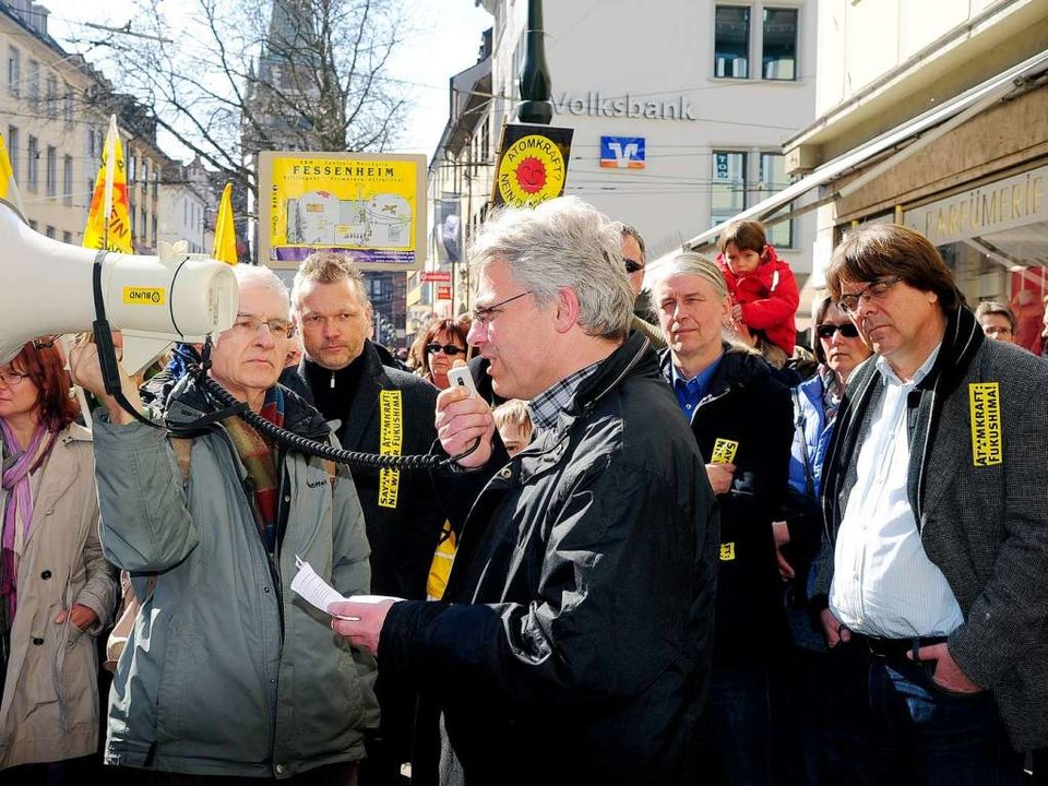 """""""Technik macht die Zukunft nicht...hardt, ganz rechts Wilfried Telkämper.    Foto: Thomas Kunz"""