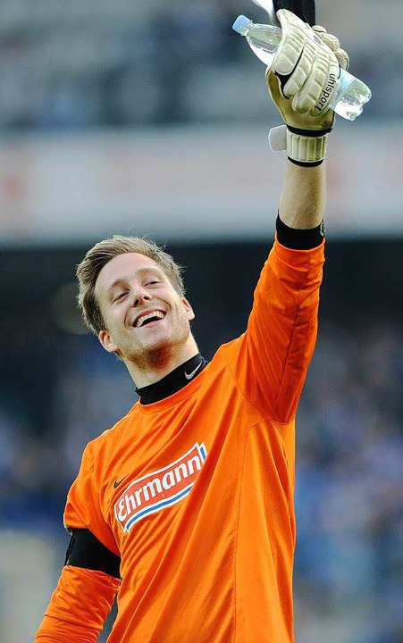 Mann des Spiels: SC-Keeper Oliver Baumann.    Foto: dapd