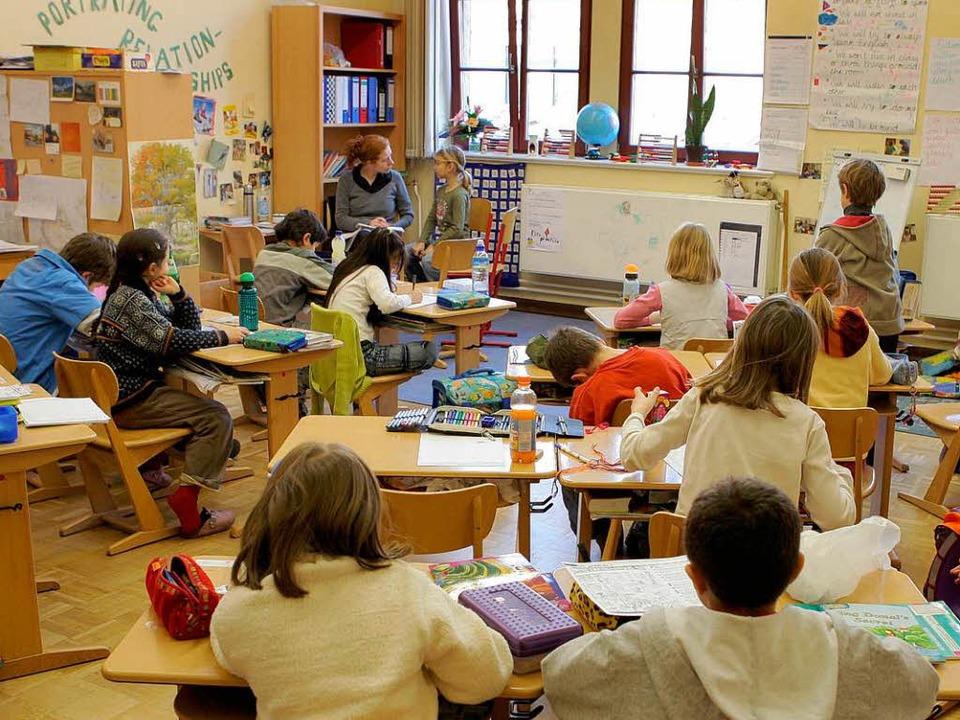 Jedes Kind beschäftigt sich mit einem eigenen Thema.  | Foto: dpa