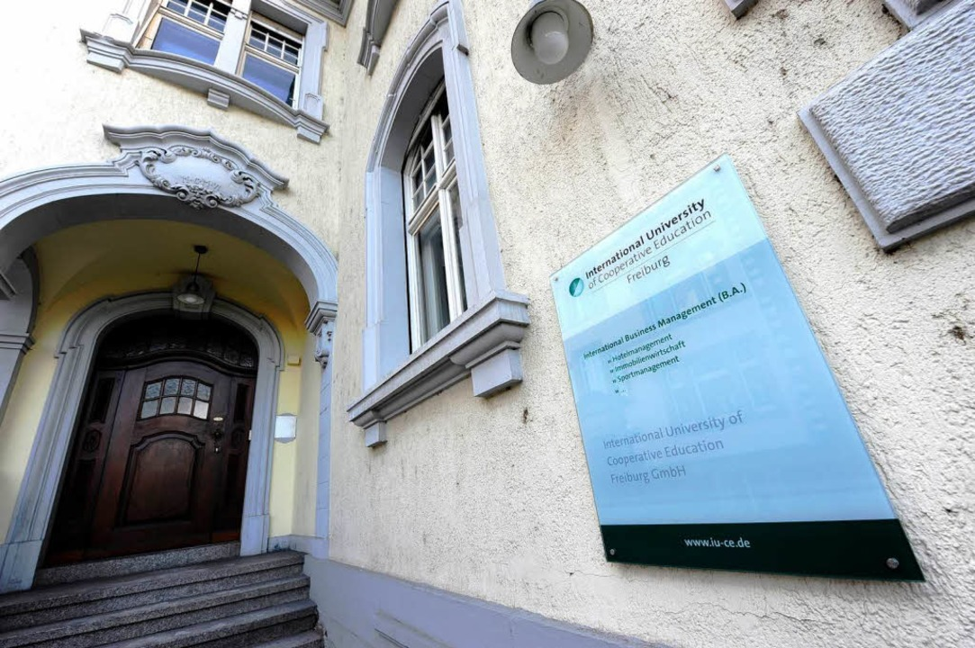 Die International University of Cooperative Education in Freiburg  | Foto: Ingo Schneider
