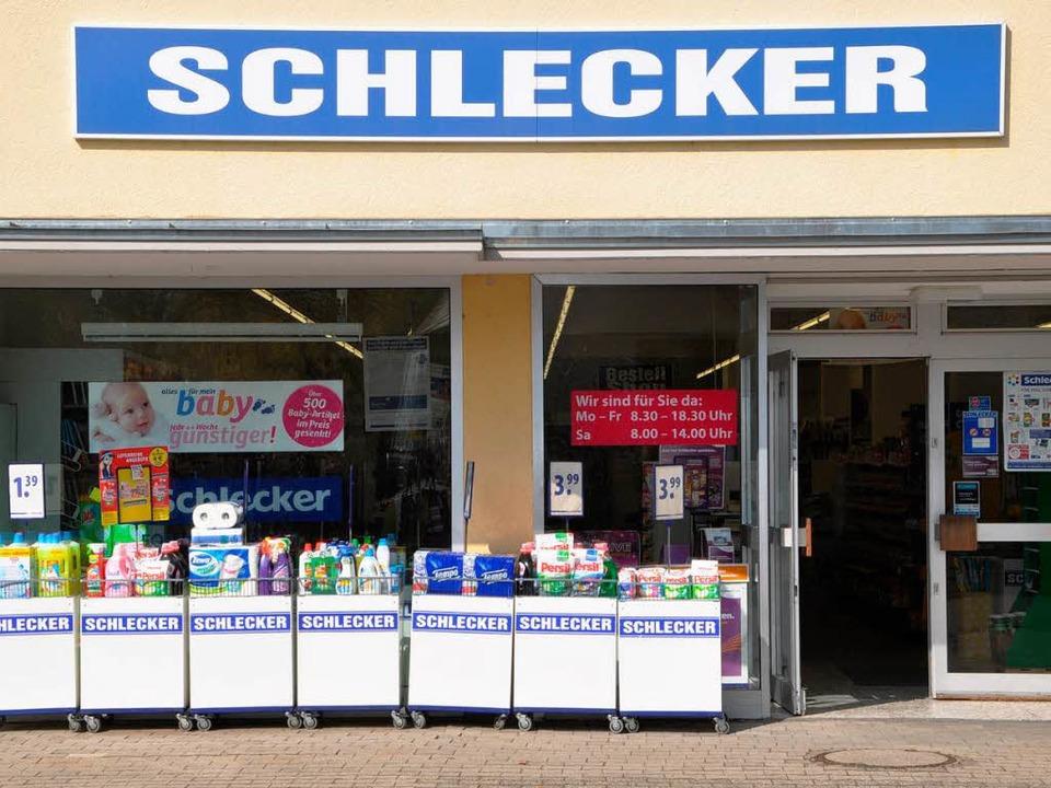 Die Tür ist vielleicht schon bald nich...cker-Filiale Zum Maidlebach in Staufen  | Foto: Rainer Ruther