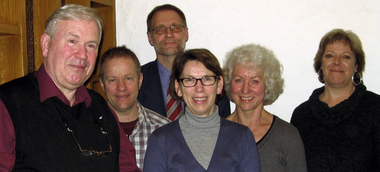 Stehen für die erfolgreiche Arbeit der...mler, Wilma Raynor und Sabine Wölfle.   | Foto: Roman Kiener