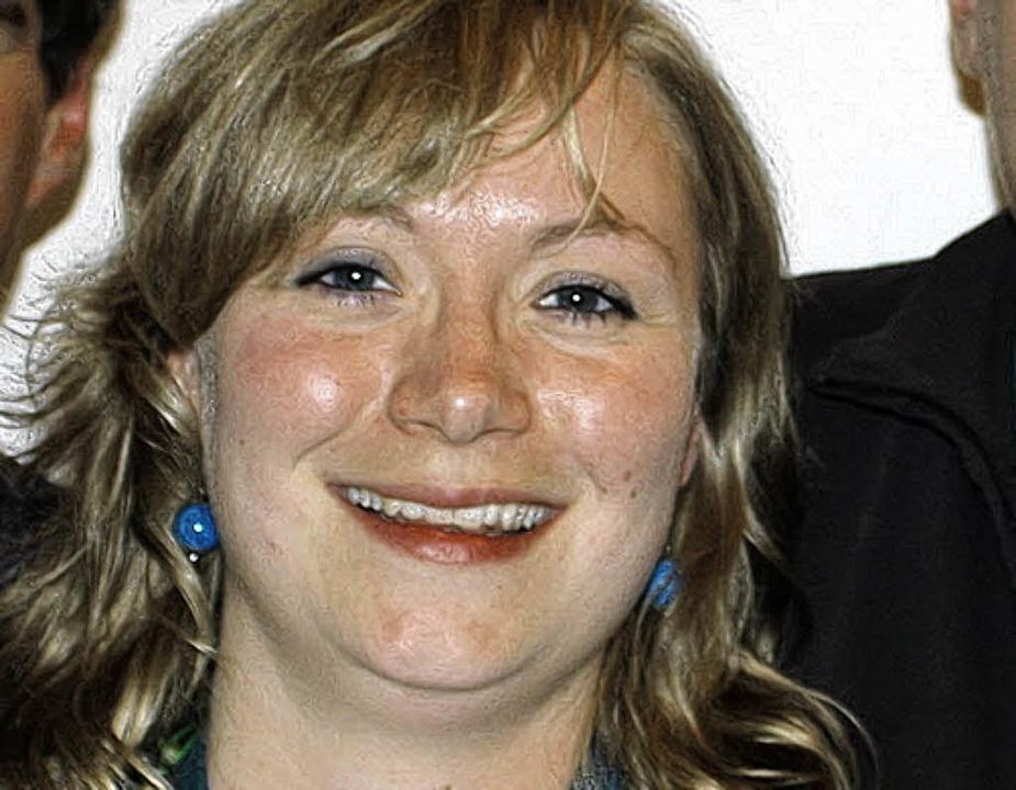 Karin Zorn, die neue Vorsitzende des Musikvereins  | Foto: Christa Maier