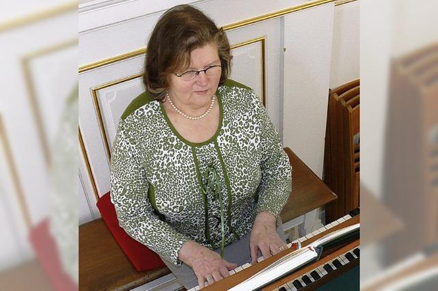 Eine Organistin aus Leidenschaft