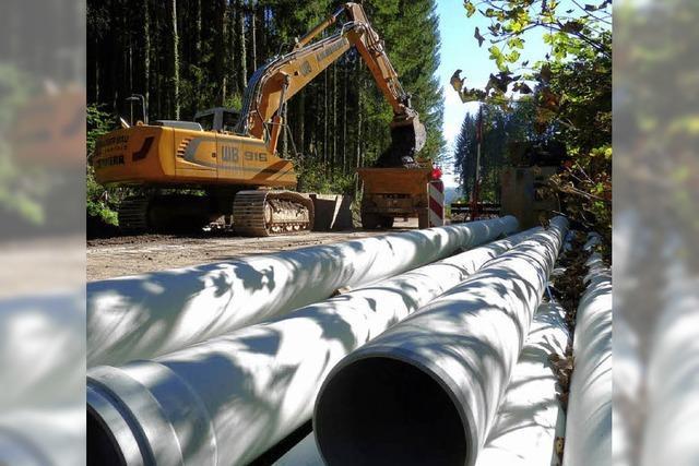 Wasserleitung wird um 163.000 Euro teurer