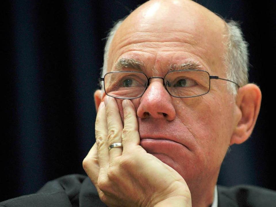Bundestagspräsident Norbert Lammert ha...sionsplänen – und sagt sie auch.  | Foto: dapd