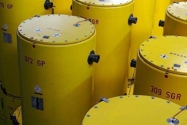 Auch in Neckarwestheim rostiges Fass mit radioaktiven Abfall entdeckt