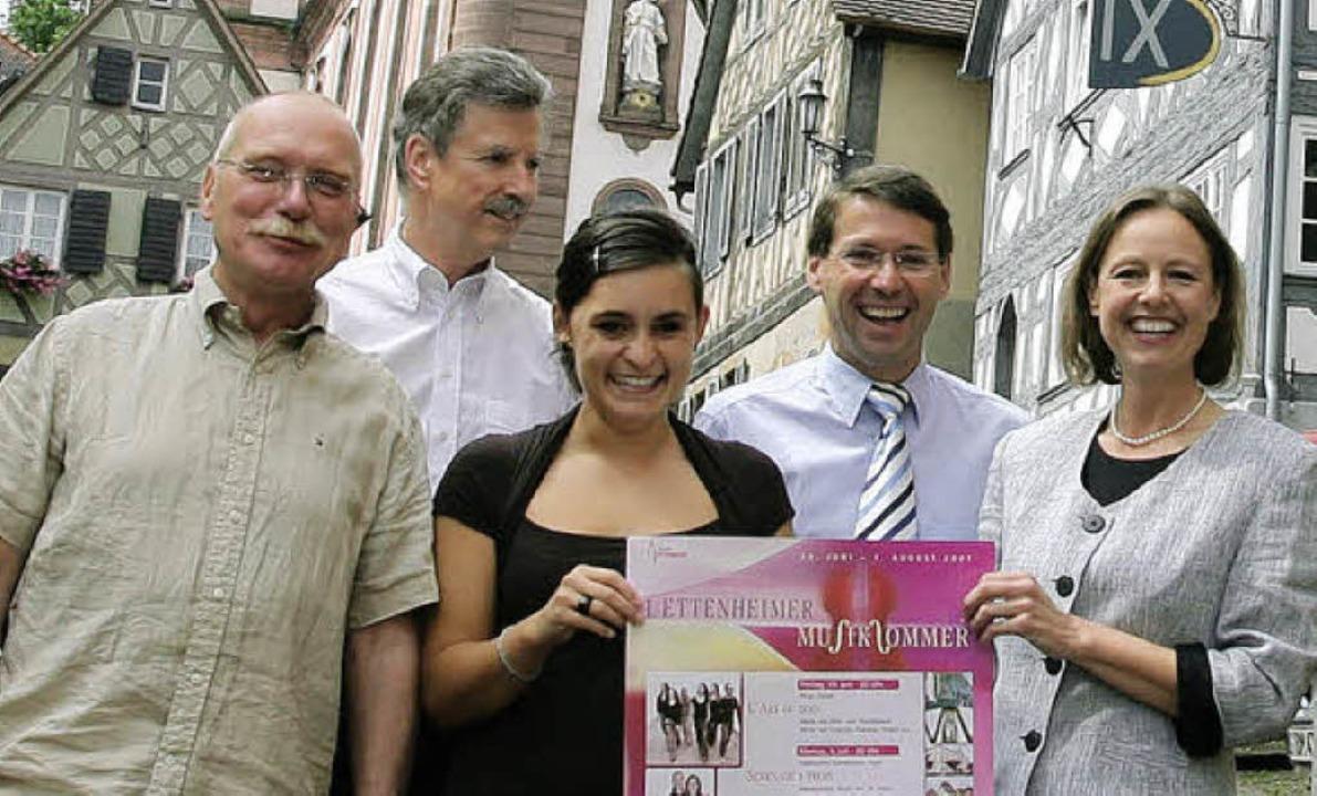 Bernd-Volker Harting (links) – h...itzender den  Ettenheimer Musiksommer.  | Foto: BZ