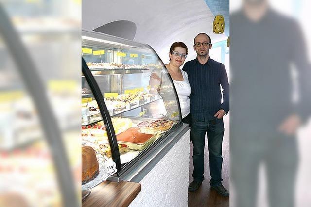 Im Caffé Pasticceria Narona gibt es italienische Kuchen
