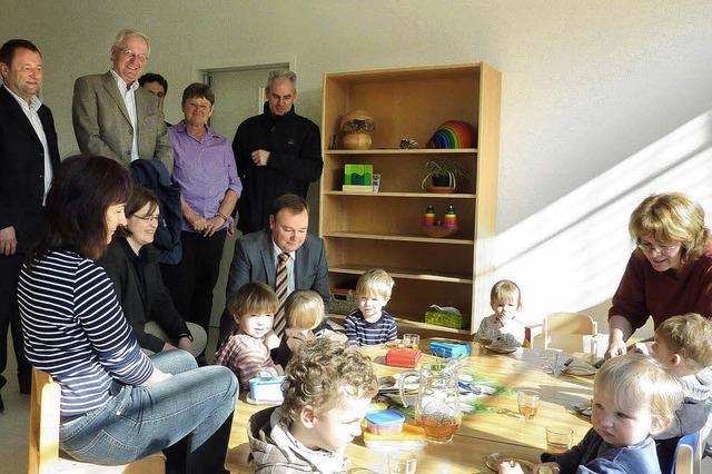 20 neue Krippenplätze im David-Kindergarten