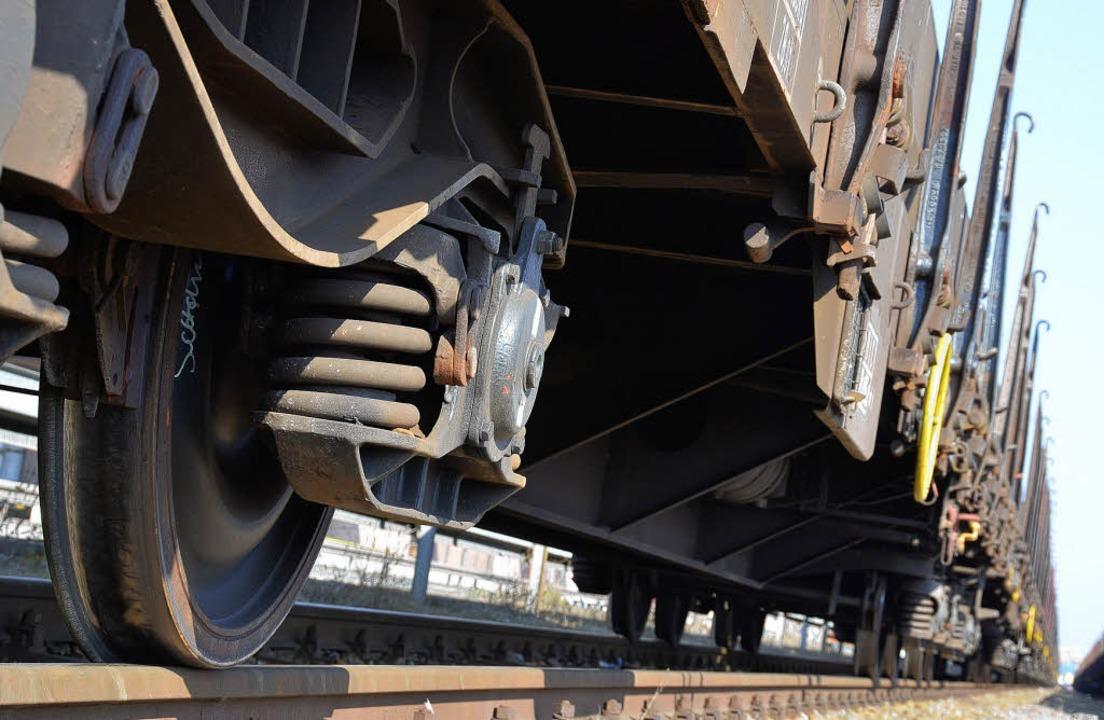 Die Abschaffung des Schienenlärmbonus&... BI Bahntrasse nun oberste Priorität.   | Foto: Fotos: Helmut Seller