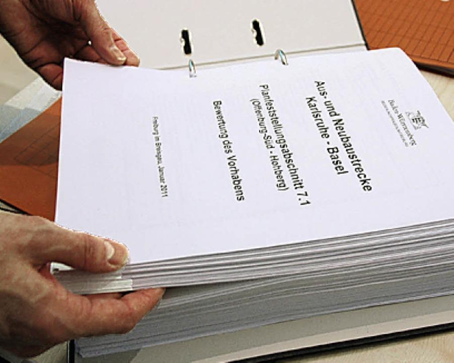 628 Seiten geballte Argumente gegen di...211; die Antwort ist nur halb so dick.  | Foto: Helmut Seller