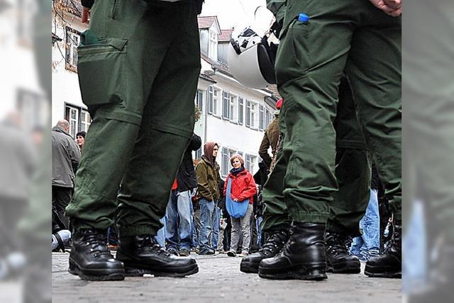Anti-Nazi-Demo: Verwaltungsgericht rüffelt Polizei