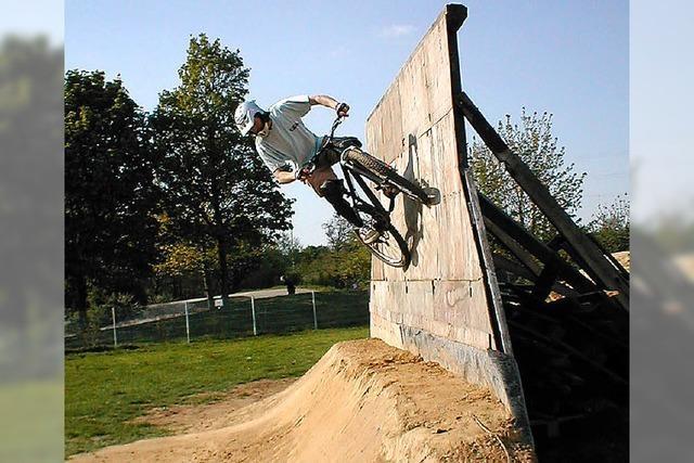 Dirtpark für BMX-Sport