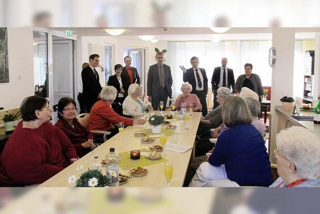 Staatssekretär besucht Emilienpark