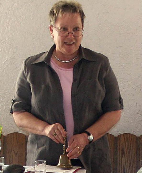 Vorsitzende Pia Amrein   | Foto: Fabry