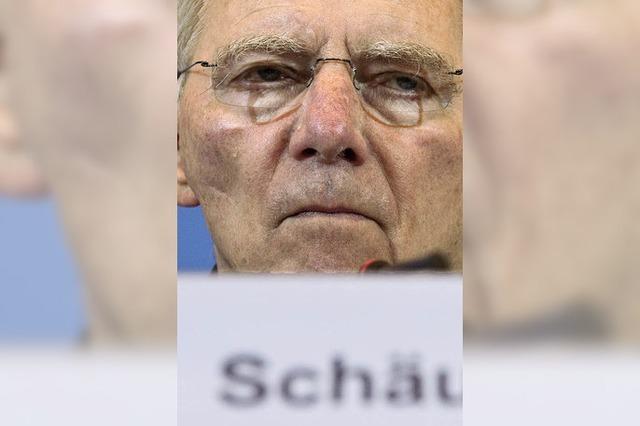 Schäuble langt zu