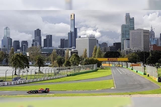 Formel 1 in Melbourne: Ein verregneter Auftakt