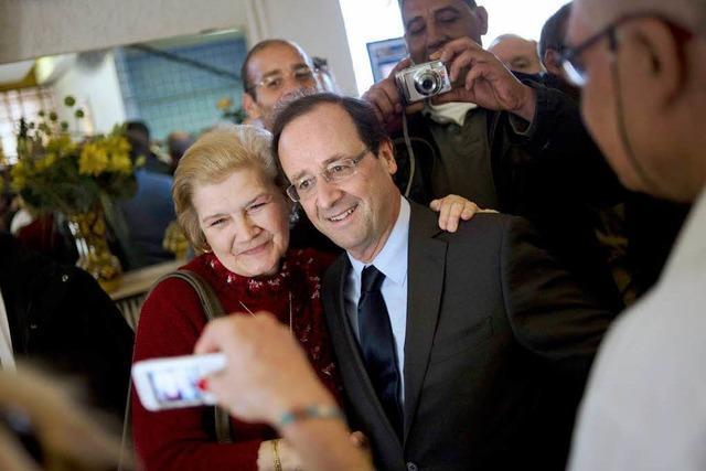 Der Unauffällige: François Hollande in Straßburg