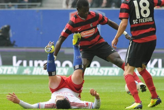 Aktuell: Hamburger SV – SC Freiburg 1:3