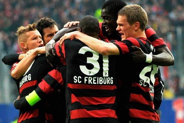 Der SC Freiburg siegt beim HSV mit 3:1