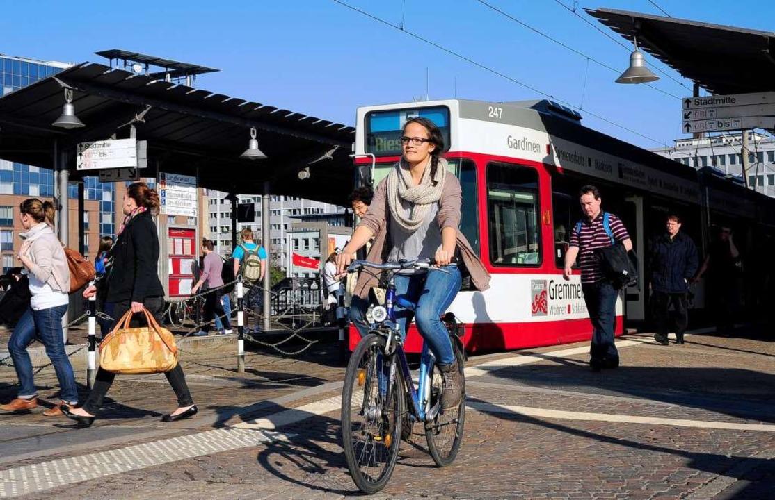 Das war's dann wohl: Radeln auf ...ücke soll bald nicht mehr erlaub sein.  | Foto: Thomas Kunz