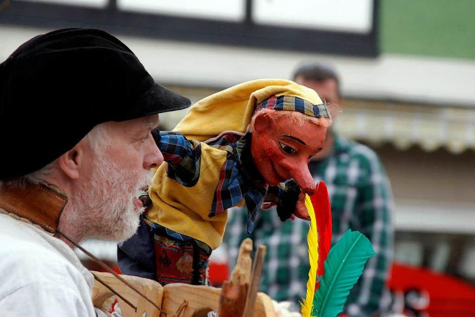 Der Open-Air-Tag bei der Puppenparade in Lahr. (Foto: Heidi Foessel)