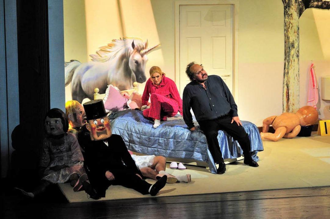 Kinderstube zwischen Traum und Albtrau...dra Zamojska), Rigoletto (Juan Orozco)  | Foto: MAURICE KORBEL
