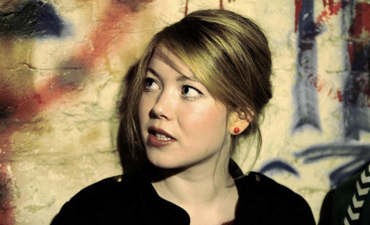 Magdalena Ganter im Probenraum von &#8... berührt und  zu einem Zuhause wird.    | Foto: privat