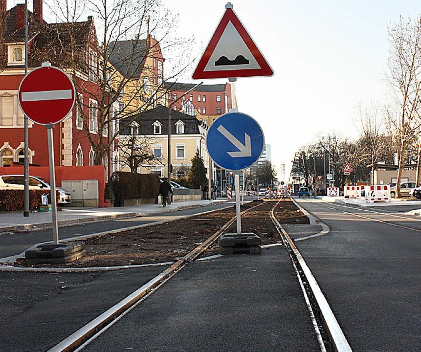 Mehr Tram  – hier die verlängert... ein Ziel des Agglomerationsprogramms.  | Foto: Erismann