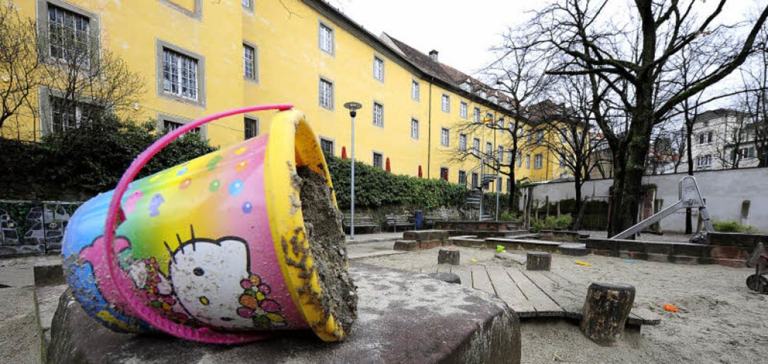 Wird der Spielplatz am Augustinermuseu...2013 vorübergehend teilweise gesperrt?  | Foto: ingo schneider