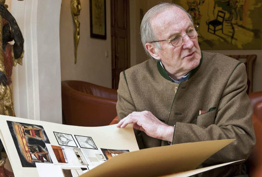 Rudolf Neumeier hat alle fünf Europa-Park-Hotels konzipiert.  | Foto: Bernhard REin