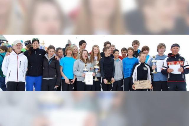 Tobias Baur von der SZ Bernau Zweiter im Deutschen Schülercup