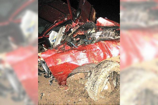 Verkehrsunfälle nicht überlebt