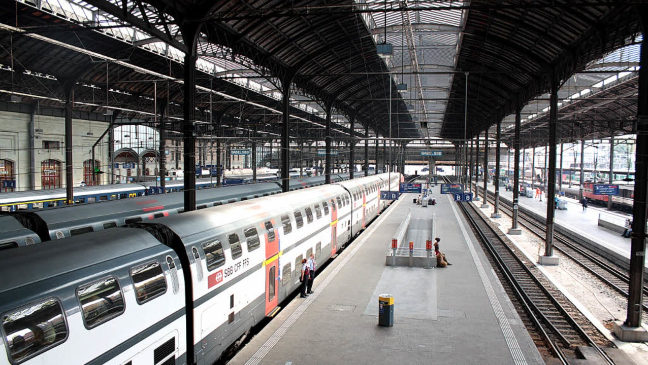 Mehr Kapazität für den Bahnhof SBB ist...en Projekte, die die Region anmeldet.   | Foto: Jacob