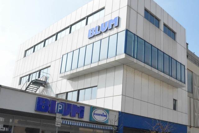 Hochrhein-Center übernimmt Kaufhaus Blum