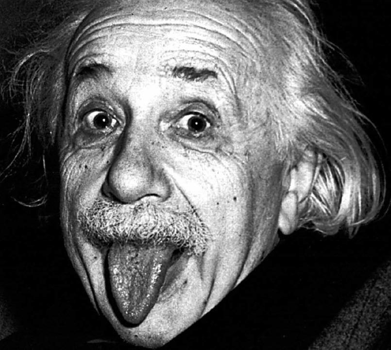 Das berühmte Foto mit der Zunge: Einstein im Jahr 1951.  | Foto: Verwendung nur in Deutschland, usage Germany only