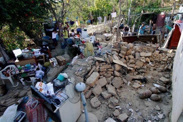 Keine Toten bei schwerem Erdbeben in Mexiko