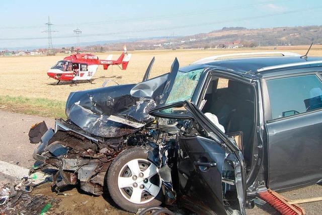 Erneut schwerer Unfall auf der A 5